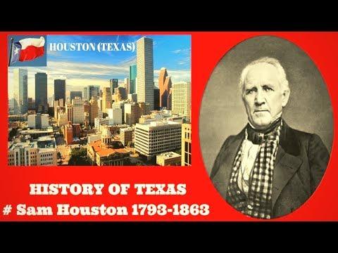 HISTORY OF TEXAS # SAM HOUSTON (1793-1863) National Hero 1st President of Texas # THE ALAMO