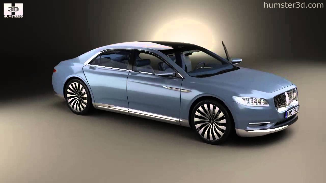 lincoln continental with hq interior 2015 by 3d model. Black Bedroom Furniture Sets. Home Design Ideas