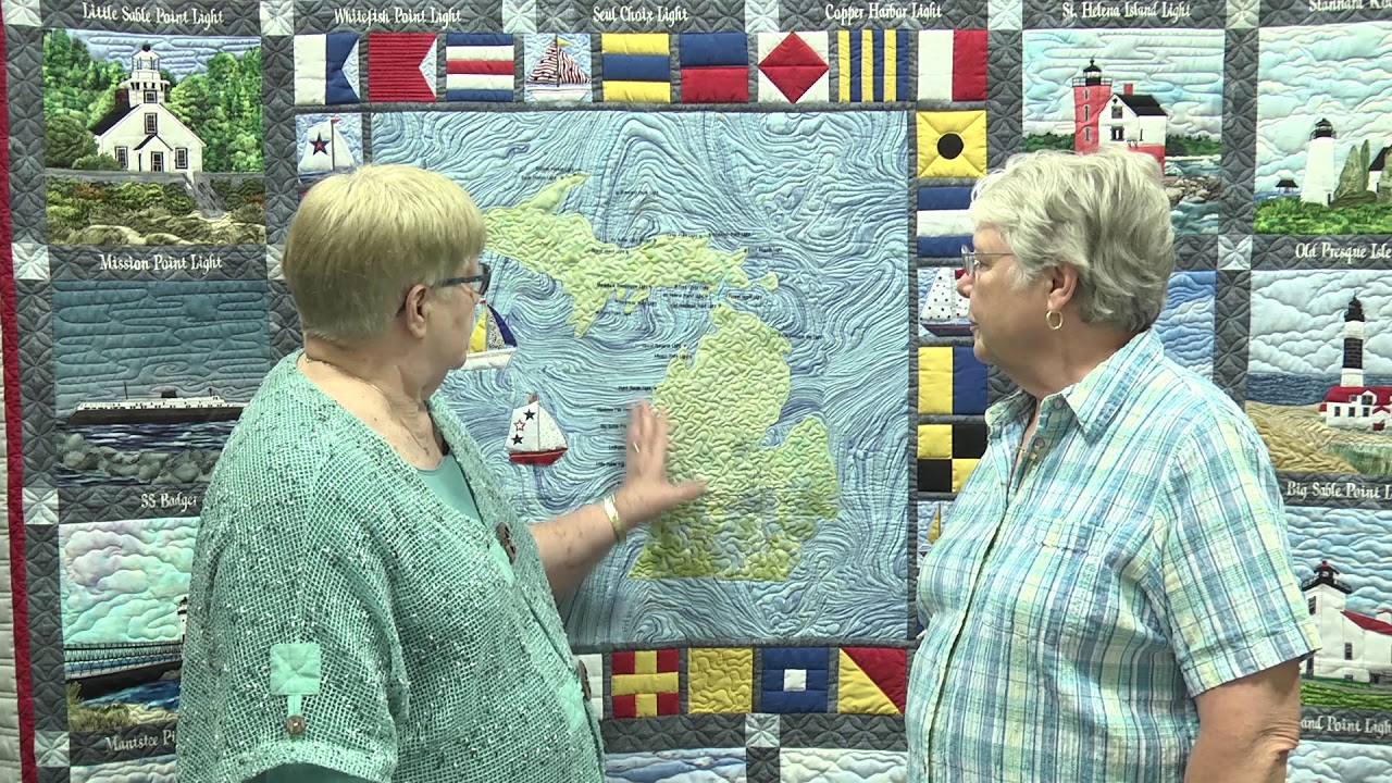 Phyllis Jacobs Wins 1st Place At Aqs Quiltweek Fall Paducah Youtube
