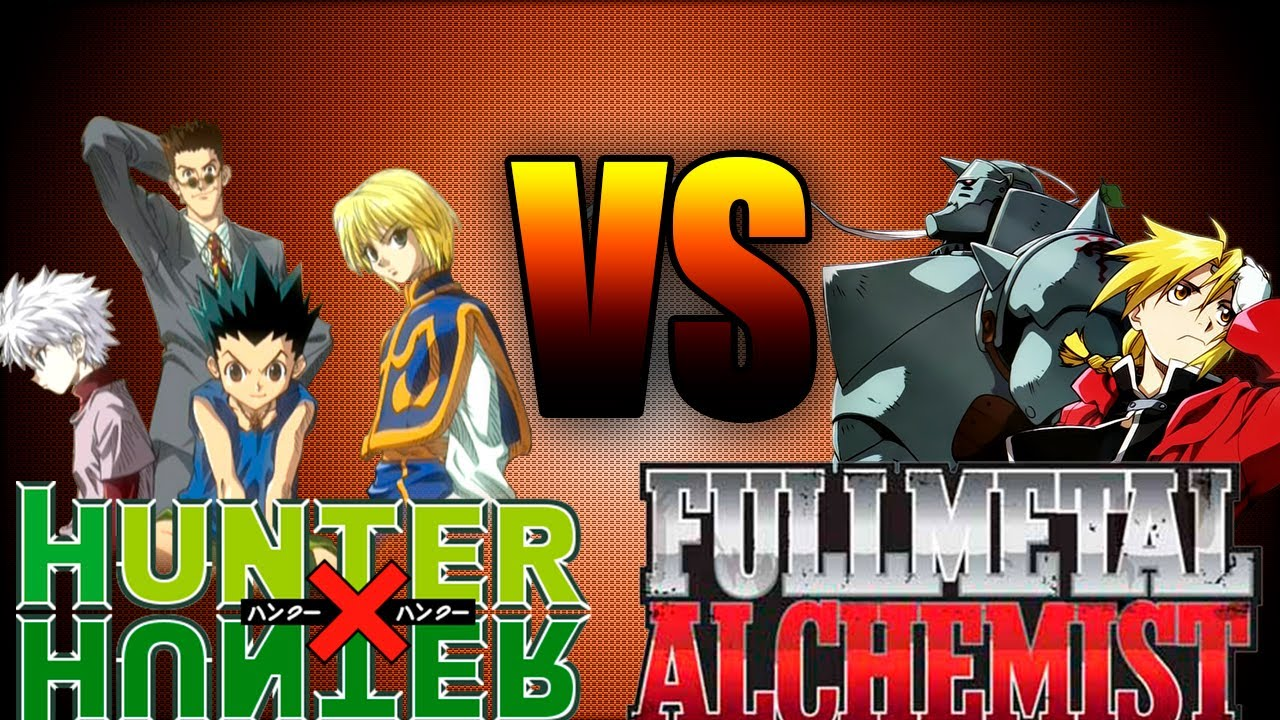 hunter x hunter vs full metal alchemist  u00bfqu u00e9 anime tiene mas fans -- u65e5 u672c u88fd u30a2 u30cb u30e1--