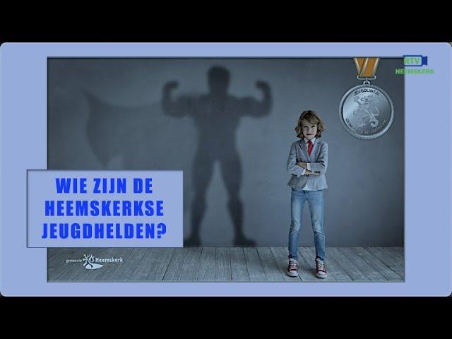 Wie zijn de Heemskerkse jeugdhelden? 20 november weten we wie een lintje verdient!