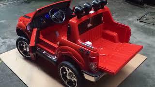 Hướng dẫn sử dụng xe ô tô điện trẻ em DKF-150 tại babykid.vn