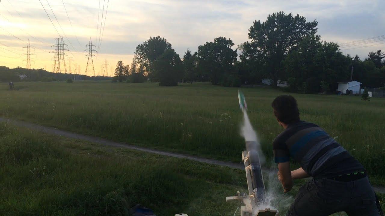 Fusée à eau (projet Chimie/Physique)