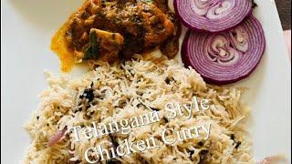 Telangana Style Chicken Curry ????????