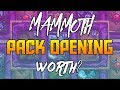 Opening the Mammoth Bundle Pack | Hearthstone