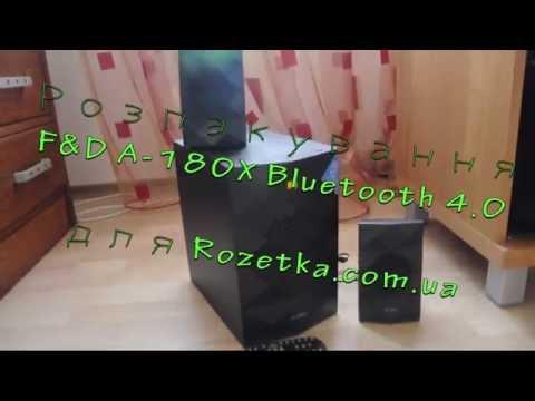 Акустична система F&D A-180X Bluetooth 4.0