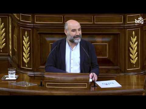 """Néstor Rego: """"Apoiamos a prórroga do estado de alarma pero non a xestión desta crise"""""""