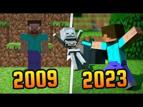 Evolution of Minecraft [2009-2021]