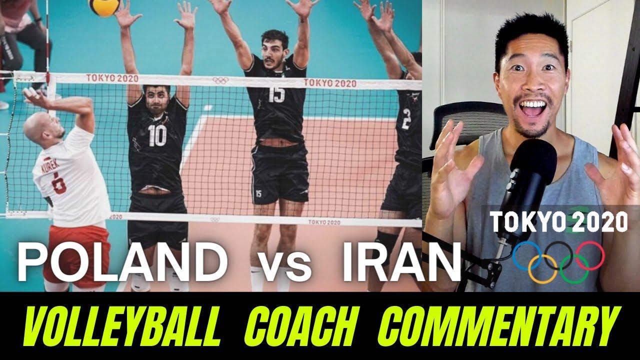 VB Coach Commentary - Poland vs Iran (Pool Play) | Tokyo 2020 Olympics Men's Volleyball