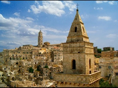 "MATERA ( Italy ) - I SASSI  di  MATERA -  Patrimonio UNESCO -- The City of  "" Sassi "" -"