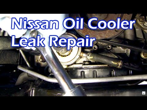 hqdefault nissan oil leak replace oil cooler o ring gasket 3 5 youtube Nissan Xterra Camping at bayanpartner.co