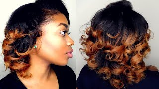 Video How To: Curl Straightened Natural Hair| NO HEAT DAMAGE download MP3, 3GP, MP4, WEBM, AVI, FLV Agustus 2018
