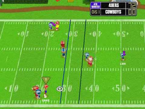backyard football 2002 highlight reel youtube
