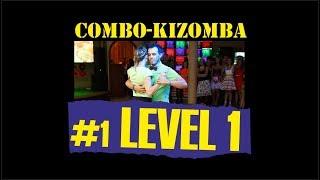 КИЗОМБА УРОК №1 (уровень 1) / KIZOMBA LESSON №1 (level 1) / обучение НОВОСИБИРСК