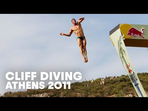 Cliff Diving in Athens, Greece - Red Bull Cliff Diving World Series Highlight