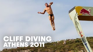 Cliff Diving In Athens, Greece - Red Bull Cliff Diving World Series Event Highlight