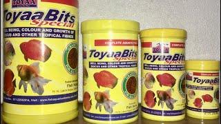 Why Toyaa/Toya Food To Feed Fishes?