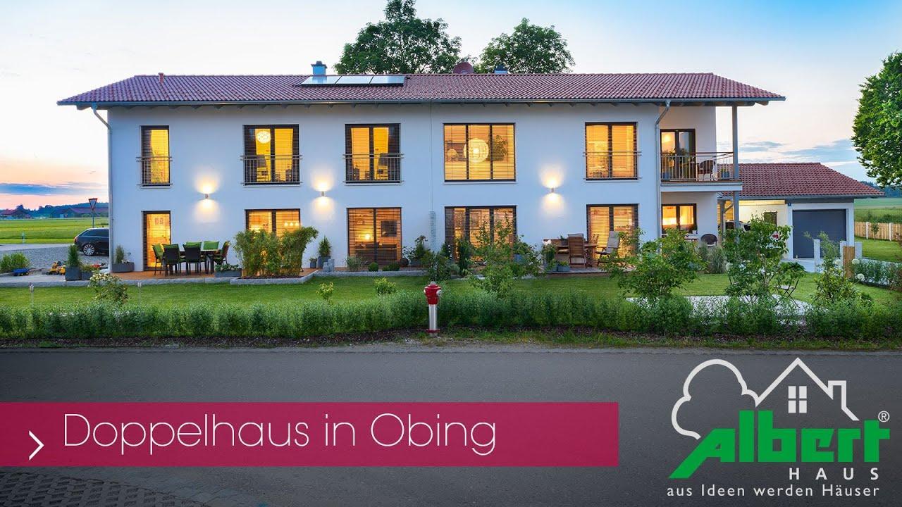 Elegantes Doppelhaus Mit 2 Vollgeschossen Und Satteldach