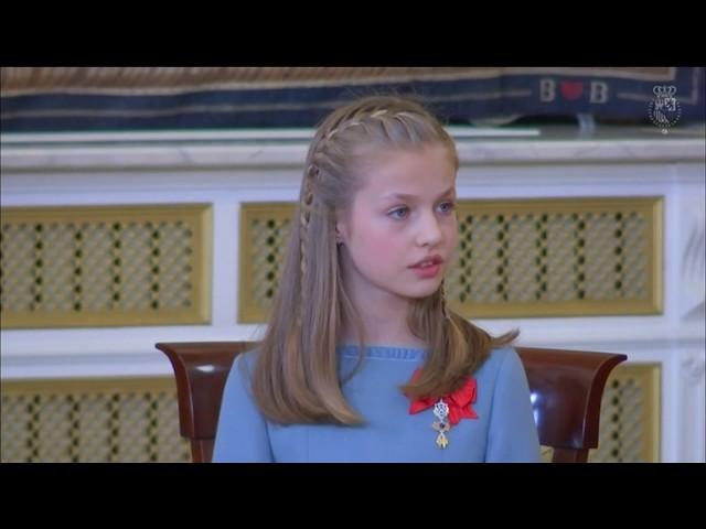 Discurso de S.M. el Rey en la imposición del Toisón de Oro a S.A.R. la Princesa de Asturias