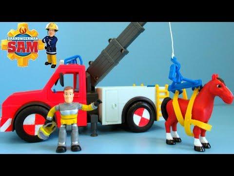Fireman Sam Fire Truck unboxing | Brandweerman Sam Brandweerwagen