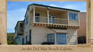 vacation rental del mar ocean front beach colony