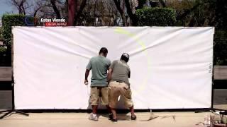 Graffiti 'Las Calles Hablan'