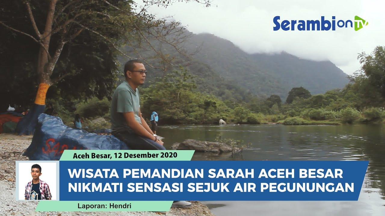 Wisata Pemandian Sarah Aceh Besar Nikmati Sensasi Sejuk Air Pegunungan Youtube