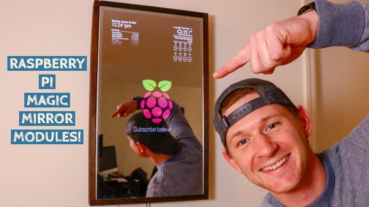 YouTube and Google Photos add-ons for your magic mirror - Raspberry Pi