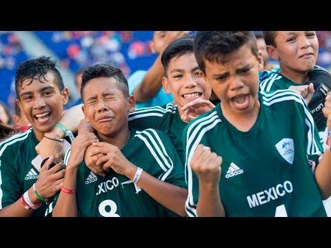 ARGENTINA vs MÉXICO   FINAL del MUNDIAL de FÚTBOL de NIÑOS (PARTIDO)