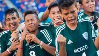 ARGENTINA vs MÉXICO | FINAL del MUNDIAL de FÚTBOL de NIÑOS (PARTIDO)