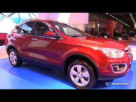 2016 FAW X80 Crossover - Exterior and Interior Walkaround - 2016 Moscow Automobile Salon
