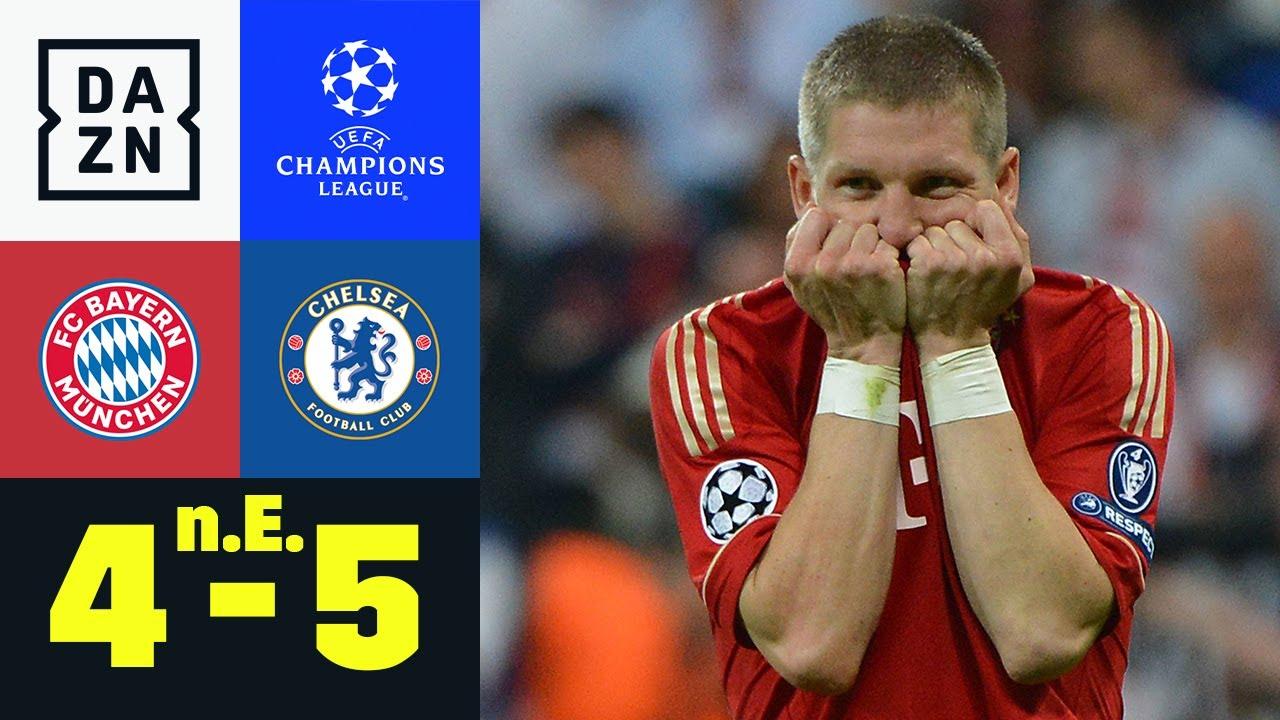 Drama pur! FCB verliert Finale dahoam: Bayern - Chelsea 4:5 n.E | UEFA Champions League | DAZN Retro