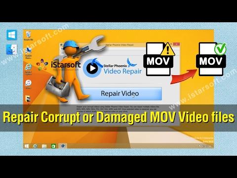 MOV Repair - How to Repair Corrupt or Damaged MOV Video files