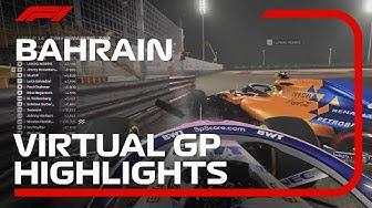 2020 Bahrain Virtual Grand Prix Highlights | F1 Esports