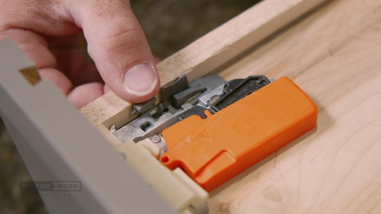 How To Tandem Blumotion Drawer Glide Adjustment