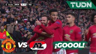 ¡Goool! Ya es goleada | Man. United 3 - 0 AZ Alkmaar | Europa League - J 6 - Grupo L | TUDN