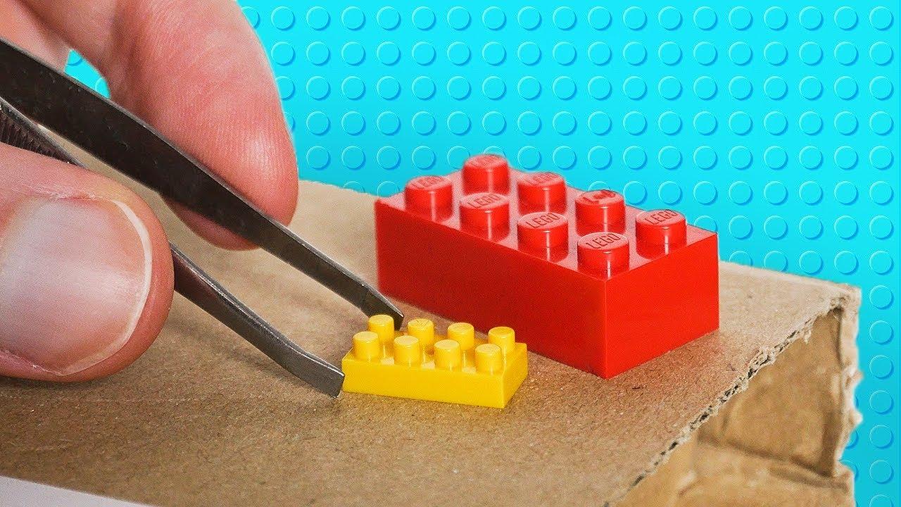 JE TESTE LES PLUS PETITS LEGO DU MONDE !