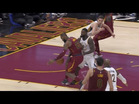 Lance Stephenson SLAPS LeBron James in the Nuts, Gets Hit with a Flagrant