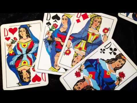 Сочетания карт в раскладах на игральных картах