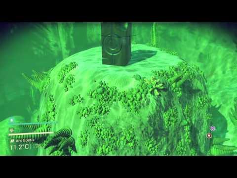 No Man's Sky underwater exploring