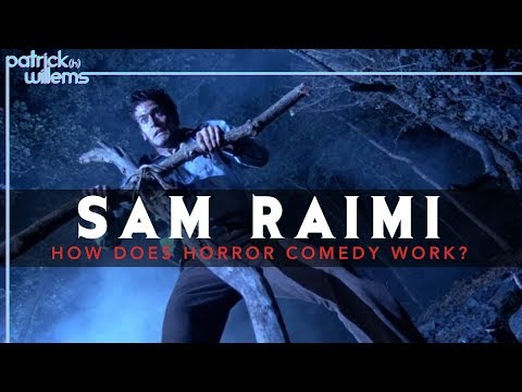 Sam Raimi - How Does Horror Comedy Work? (video essay)