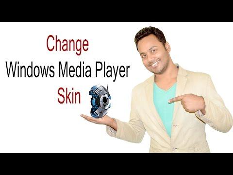 How To Change Windows Media Player Skin - Hindi / Urdu [Billi4You]