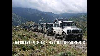 Sardinien 2018 - 4x4 Offroad-Tour