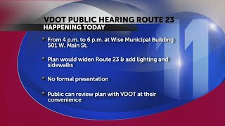 VDOT to hold public meeting on Route 23 widening in Wise County