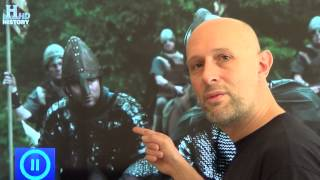 Knitted chainmail and weird plate armour in movies and TV (especially Vikings season 1)
