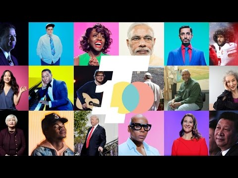 All The 2017 TIME 100 Honorees In One Minute | TIME