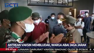 Diserbu Ratusan Warga, Antrean Vaksinasi Massal di Hotel Membludak Picu Kerumunan - SIP 29/06