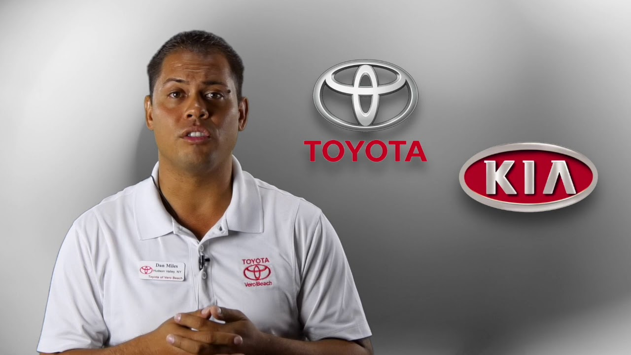 Vero Beach Toyota >> Greeting Dan From Toyota Kia Of Vero Beach