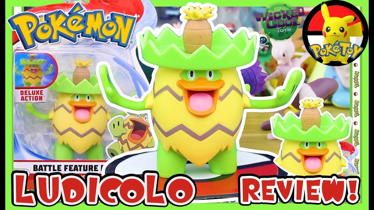 Pokemon Battle Figure Ludicolo