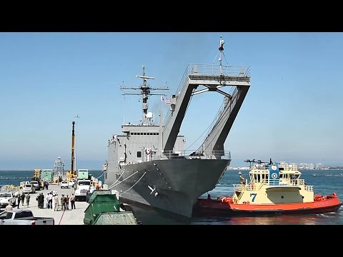 Mexican Navy Tank Landing Ship ARM Usumacinta Arrives At NBSD For RIMPAC 2016
